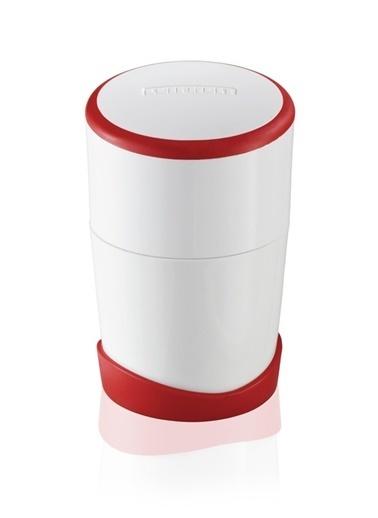 KLT Klt Mini Beyaz - Kırmızı Servis Gereçleri Renksiz